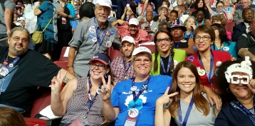 2016-07-25-1728 - Nevada Bernie Delegation - Convention